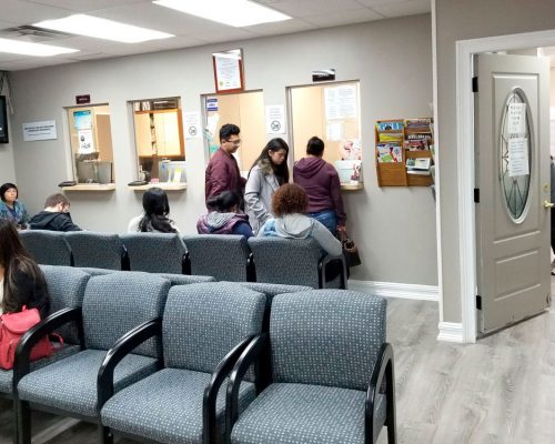 Brentwood Medical Center waiting room